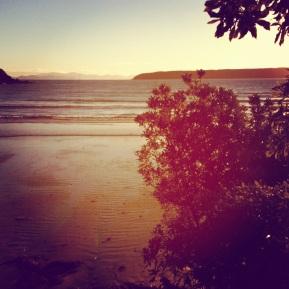 Living the Dream, being nostalgic on Titahi Bay Beach
